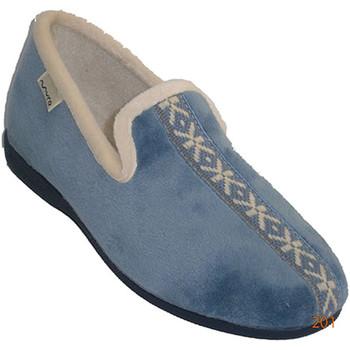 Sapatos Mulher Chinelos Muro Wall in celeste azul