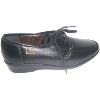 Sapatos Mulher Sapatos Doctor Cutillas Cadarço -up confortável em preto Cutilla negro