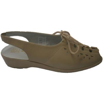 Sapatos Mulher Sandálias Doctor Cutillas Doutor Cutillas laços sandália em bege beige