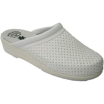 Sapatos Mulher Tamancos Otro Clog simples dama de branco blanco
