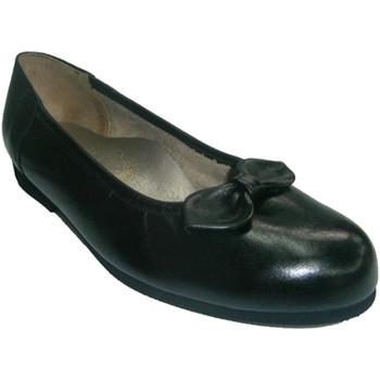 Sapatos Mulher Sabrinas Roldán TV Manoletina com faixas pretas ao redor Roldan negro