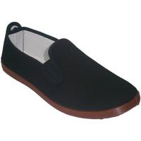 Sapatos Slip on Irabia Sapatos para tai chi, yoga e Kunfu  em preto negro