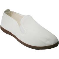 Sapatos Slip on Irabia Sapatos para tai chi , yoga e  Kunfu em branco blanco