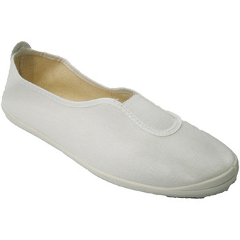 Sapatos Fitness / Training  Irabia Ginástica clássico Slipper  no branco blanco