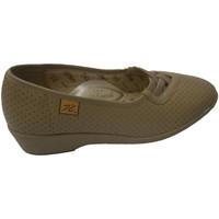 Sapatos Mulher Mocassins Doctor Cutillas Projecto de sapatos com pneus transversais em bege Cutillas Doct beige
