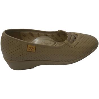Sapatos Mulher Mocassins Doctor Cutillas Projecto de sapatos com pneus transversa beige