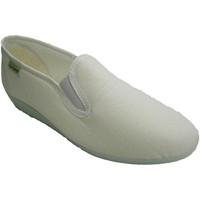 Sapatos Mulher Chinelos Muro Sneaker clássico com baixo cunha parede blanco