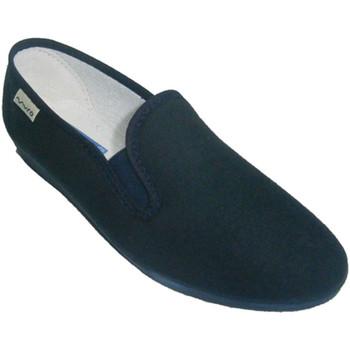 Sapatos Mulher Slip on Muro Sneaker clássico com  baixo cunha na azul