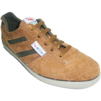 Sapatos Homem Fitness / Training  Segarra sneaker em camurça marrom marrón