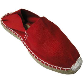 Sapatos Alpargatas Made In Spain 1940 Esparto esparto alpercatas planas em ver rojo