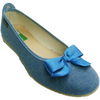 Sapatos Mulher Sabrinas Made In Spain 1940 Bow Manoletina Alberola no Texas azul