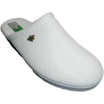 Sapatos Mulher Chinelos Made In Spain 1940 Tamancos Alberola no branco blanco