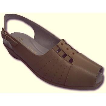 Sapatos Mulher Sandálias Doctor Cutillas Sandálias muito confortável senhora vamp borracha  em bege beige