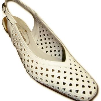 Sapatos Mulher Escarpim Pomares Vazquez Sapatos projecto Toe Fechado traseira ab blanco