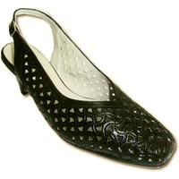 Sapatos Mulher Sandálias Pomares Vazquez Rascunhos abrir costas largas sapatos pr negro