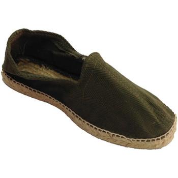 Sapatos Homem Alpargatas Made In Spain 1940 Sandálias de cânhamo tecido espinha de p blanco