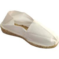 Sapatos Mulher Alpargatas Made In Spain 1940 Espadrille Espadrille cunha com baixo em blanco