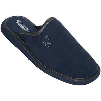 Sapatos Homem Chinelos Andinas Chinelos sandálias fechadas pelo pico andino na marinha azul