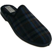 Sapatos Homem Chinelos Made In Spain 1940 Piso Thongs borracha quadriculada Soca n azul