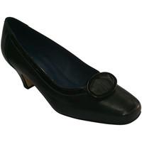 Sapatos Mulher Sabrinas Pomares Vazquez Sapato de salto médio com motivo quadrad negro
