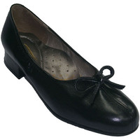 Sapatos Mulher Sabrinas Roldán Sapatas largas extras com abertura calcanhar no centro com empat negro