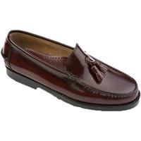 Sapatos Homem Mocassins Edward's Castellanos borlas borgonha  em Bordeaux violeta