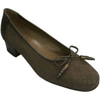 Sapatos Mulher Escarpim Roldán Manoletinas tipo de sapato mulher com pequenos diamantes a céu a beige