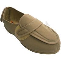 Sapatos Mulher Chinelos Doctor Cutillas Mulher sapatos muito largos pés com salto Velcro e peito do pé