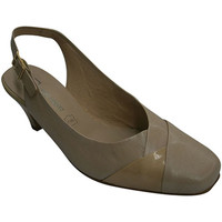 Sapatos Mulher Escarpim Pomares Vazquez Sapatos vestido da mulher abrir volta de beige