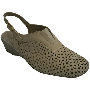 Sapatos Mulher Escarpim Pomares Vazquez Peep volta projecto de mulher  em Beig beige
