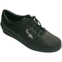 Sapatos Mulher Desportos indoor Made In Spain 1940 Ostenta a mulher com cunha Fergar em Pre negro