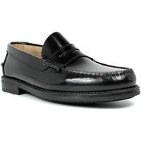 Sapatos Homem Mocassins Edward's Solas de borracha Castellanos  em Preto negro