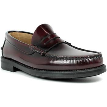 Sapatos Homem Mocassins Edward's Solas de borracha Castellanos  em Bordeaux violeta