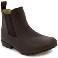 Sapatos Mulher Botins Danka Cana-de-média espólio menina  em Brown marrón