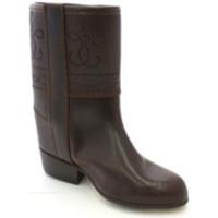 Sapatos Mulher Botas Danka Bota imprime menina jaqueta  em Brown marrón