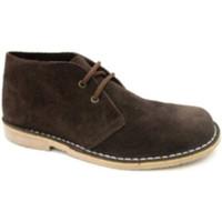 Sapatos Homem Botas baixas Danka Ampla toe inicialização safari  em Brown marrón