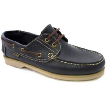 Sapatos Homem Sapato de vela Danka Solas finas náuticas  em Azul-marinho azul