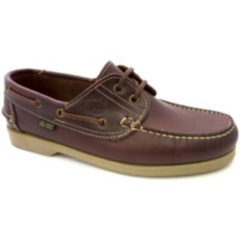 Sapatos Homem Sapato de vela Danka Solas finas náuticas  em Couro marrón