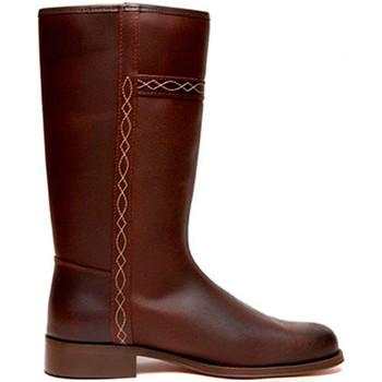 Sapatos Mulher Botas Danka Bota casaco clássico  em Brown marrón