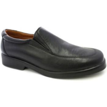 Sapatos Homem Mocassins Danka Sapato garçom sem atacadores  em Preto negro