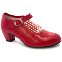 Sapatos Mulher Escarpim Danka Sevilha sapato de dança flamenco menina ou mulher  em Red rojo