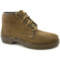 Sapatos Homem Botas baixas Segarra Suede laços do carregador trabalho  em Camel marrón