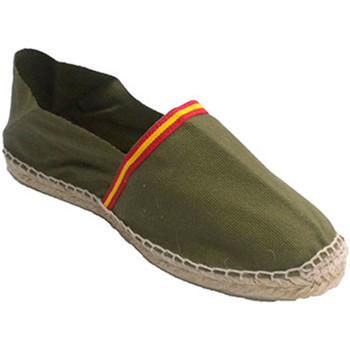 Sapatos Alpargatas Made In Spain 1940 Manoletina Made in Spain em Kaki blanco