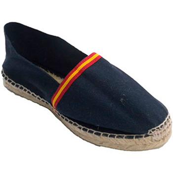 Sapatos Alpargatas Made In Spain 1940 Sandálias de cânhamo com pavilhão de Esp azul