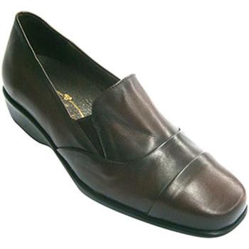 Sapatos Mulher Mocassins Pomares Vazquez Sapatas da mulher com alta pá com elásti violeta