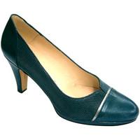 Sapatos Mulher Escarpim Pomares Vazquez Mulher abertura sapato fechado plataform gris