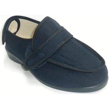 Sapatos Mulher Chinelos Doctor Cutillas Sneakers Velcro Super largas  em Azul-marinho azul