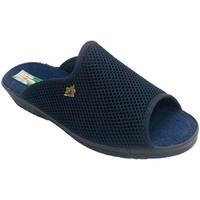 Sapatos Mulher Chinelos Made In Spain 1940 grade Chancla em torno da casa do dedo d azul