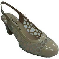 Sapatos Mulher Escarpim Pitillos Sapata da mulher com grade traseira aber beige