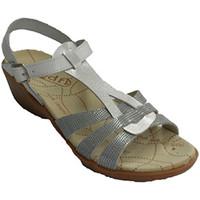 Sapatos Mulher Sandálias Rodri As mulheres vestem sandália fivela tornozelo fivela  em Branco blanco